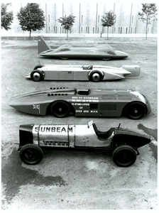 Designed and manufactured in Wolverhampton, the Sunbeam 350hp racing ...