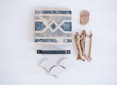 Natural materials. Wood, stone...