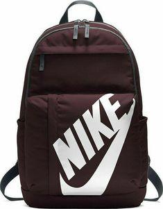6fc4f4ea8f Details about Nike Elemental Backpack Maroon Size 25 Litre School Laptop  Gym Sports Bag Unisex