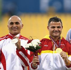 Casinos Sierra aims to win his fifth Paralympic gold 10.09.2016 Four is not enough for the Spanish athlete who will compete in the men's discus throw F11 at Rio Games. - Casinos Sierra