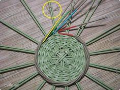 Мастер-класс Плетение МК - Шкатулка из бумаги Бумага газетная Трубочки бумажные фото 12