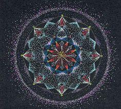 ワークショップ 糸かけ曼荼羅、点描曼荼羅、曼荼羅塗り絵