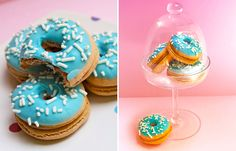 Donut Macarons. No other words needed!   StyledByMe.co