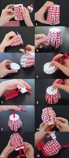 The Most Stunning DIY Paper Lanterns Ideas #DIY #Crafts #handmadeLanterns #PaperLantern