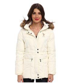 U.S. POLO ASSN. Hooded Jacket w/ Zip Pockets