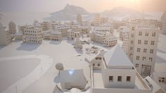 Paper City by Maciek Janicki. The streets are paved with paper. This delicate animation follows the charming rise and fold of a fragile metropolis.