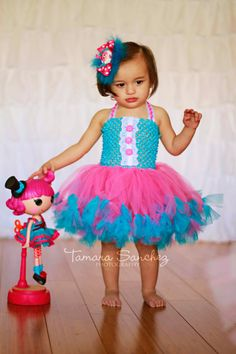 Lalaloopsy inspired petti tutu dress and by JAKsTutuBoutique, $40.00