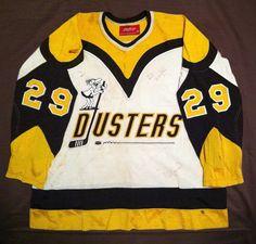 Broome County Dusters Sort by at DuckDuckGo Hockey Logos, Hockey Teams, Ice Hockey, Custom Hockey Jerseys, Hockey Shirts, Sports Jerseys, Binghamton New York, Hockey Sweater, Hartford Whalers