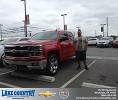 Congratulations to Chris Caplena on your #Chevrolet #Silverado 1500 purchase from Katie  Butler at Lake Country Chevrolet Cadillac! #RollingInStyle