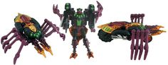 Cliffbee.com: Transformer Toy Reviews: Transmetal Tarantulas