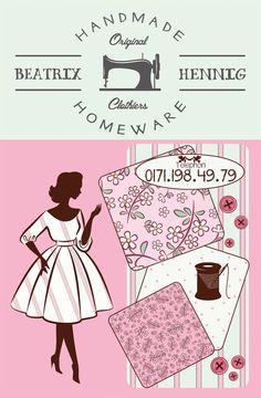 Visitenkarte für Handgearbeitete Produkte  www.strawfish.com