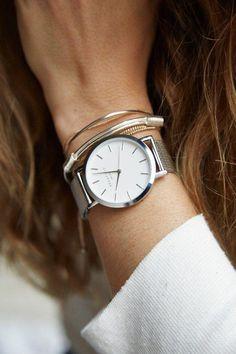 Brand New Silver Womens Rosefield Watch d0c2943261
