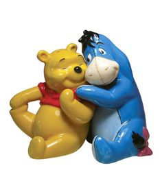 Take a look at this Pooh & Eeyore Salt & Pepper Shaker Set by Westland Giftware on #zulily today!   Love Eeyore