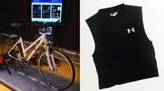The Fraunhofer Institute for Integrated Circuits IIS recently paired its fitness monitoring shirt with a smart pedelec bike. The system allows performance data measured from the shirt to control the output of the bike's electric motor.