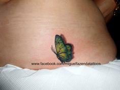 Miguel Fazenda Tattoos: Butterfly