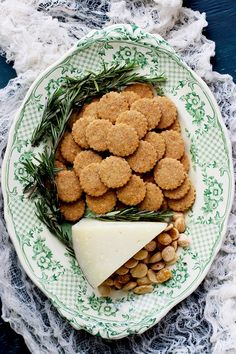 These are little morsels from heaven!You get the flakiness of the shortbread, great texture from the almonds and whole wheat flour and cheesy goodness from the Manchego. These are a…