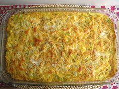 Bacalhau no forno com legumes