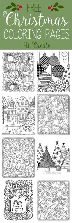Brilliant Picture of Adult Christmas Coloring Pages . Adult Christmas Coloring Pages Free Christmas Adult Coloring Pages U Create Noel Christmas, Christmas Colors, Christmas Projects, Winter Christmas, Holiday Crafts, Holiday Fun, Christmas Decorations, Christmas Patterns, Christmas Games
