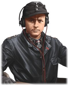 MICHAEL WITTMANN MICHAEL WITTMANN   MICHAEL WITTMANN  Commander Stats Leadership: 69Strength: 78Intelligence: 55Unit: TankOne of Germany's top scoring panzer aces, Wittmann was credited with the destruction of 138 tanks, 132 AT guns, and an unknown number of armored vehicles. He was moved to the Western front in 1944, terrorizing allied forces with deadly tank ambushes. During the battle of Villers-Bocage, he destroyed 14 tanks within 15 minutes.