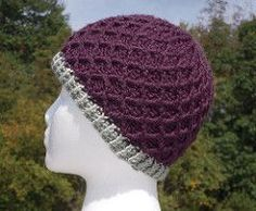 Lattice Hat pattern by Sarah Arnold