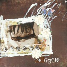 GROW by:Yasu #スクラップブッキング