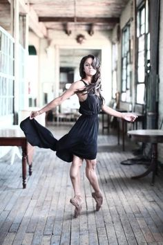 Wow! Look at her arches! so amazing. Misty Copeland