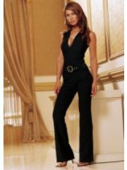 63899a7b280 Black Sleeveless Jumpsuit by Venus - Size L Black Jumpsuit