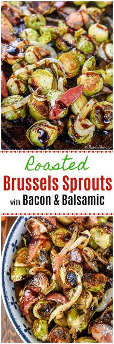Roasted Brussels & Balsamic