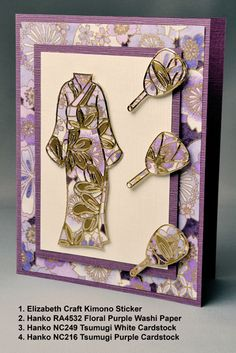 card with gold Peel Off (outline) Stickers by Elizabeth Craft Designs on top of patterned paper Asian Crafts, Elizabeth Craft Designs, Scrapbook Cards, Scrapbooking, Craft Stickers, Glitter Cards, Diy Christmas Cards, 3d Prints, Card Making Techniques