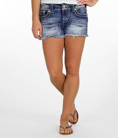 Miss Me Frayed Stretch Short - Women's Shorts | Buckle