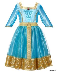 merida's blue dress from brave