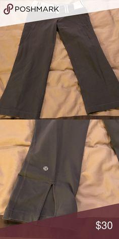 Lululemon Gray Capri lululemon lululemon athletica Pants Capris