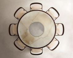 Round table and chairs, Joaquim Tenreiro (R & Company) © R & Company #interiordesign