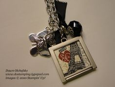 Simply Beautiful, Stampin' Up! Simple Adorned necklace