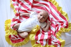 TUTORIAL: Ruffle Blanket
