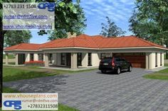 Tuscan House Plans, My House Plans, 4 Bedroom House Plans, Family House Plans, House Floor Plans, House Plans South Africa, Beautiful House Plans, Modern House Facades, My Dream Home