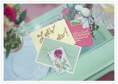floral-themed bridal shower invites