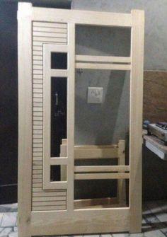 48 Super Ideas For Jali Door Design Flush Door Design, Door Gate Design, Main Door Design, Bedroom Door Design, Door Design Interior, Home Room Design, Bed Design, Modern Wooden Doors, Wood Doors
