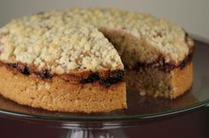 Great for brunch or dessert - 7 Grain Marion Berry Coffee Cake from the Bob's Red Mill Kitchen