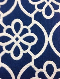 Fabric Design | Duralee All-Purpose Fabrics Pattern: 32748 Color: 5 Blue 69% Cotton - 31% Polyester