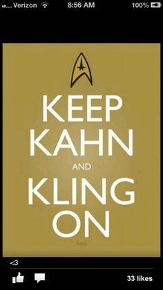 Star trek OH EM GEEE it was good. Loved Kahn. Yum. Lol
