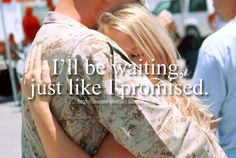 I'd wait forever for my Marine if I'd have to! Air Force Girlfriend, Military Girlfriend, Navy Wife, Wife And Girlfriend, Usmc Love, Marine Love, Military Love, Airforce Wife, Military Quotes
