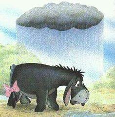A veces nuestra propia actitud y falta de enfoque nos hace seguir con la nube negra encima. .. y lo peor: se puede volver costumbre.