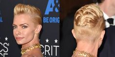 Jaime Pressly's Take On A French Braid Is Totally Badass #refinery29  http://www.refinery29.com/2015/06/88579/jaime-pressly-braid-mohawk-hair-style