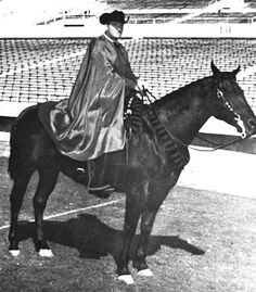 Joe Kirk Fulton never thought that the Masked Rider would become the tradition it is today