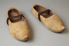 Wooden Clogs, Wooden Shoe, Johannes Vermeer, Clogs Shoes, Netherlands, Old Things, Pearl Earrings, Footwear, Pearls