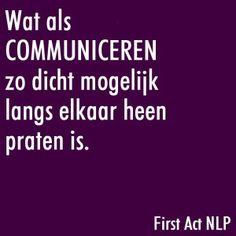 communiceren
