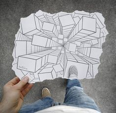 neat one point perspective project