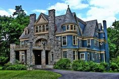Stone and Blue Victorian