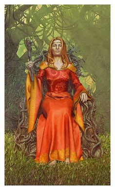 Queen of Wands - Vice Versa Tarot